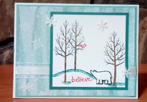 WHITE CHRISTMAS STAMP A STACK (5)
